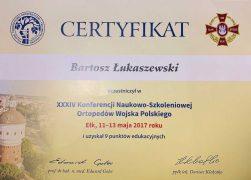 Konferencja Naukowo-Szkoleniowa Ortopedów Wojska Polskiego