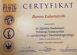 XLI Zjazd Naukowy Polskiego Towarzystwa Ortopedycznego i Traumatologicznego